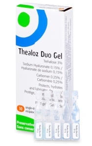Thealoz Duo Gel eye solution